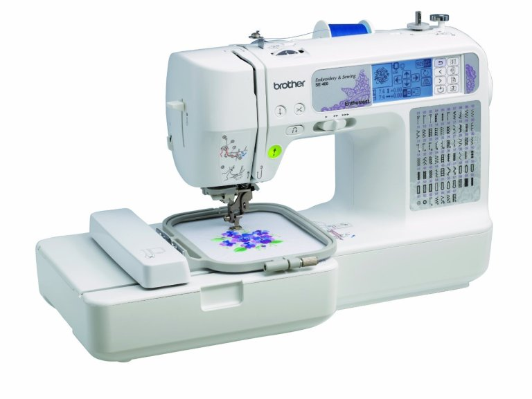 A Review of the Brother SE400 Sewing Machine