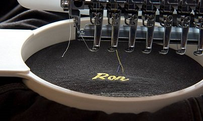 embroidery machine for shirts and hats