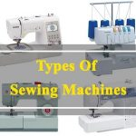 8 types of sewing machine