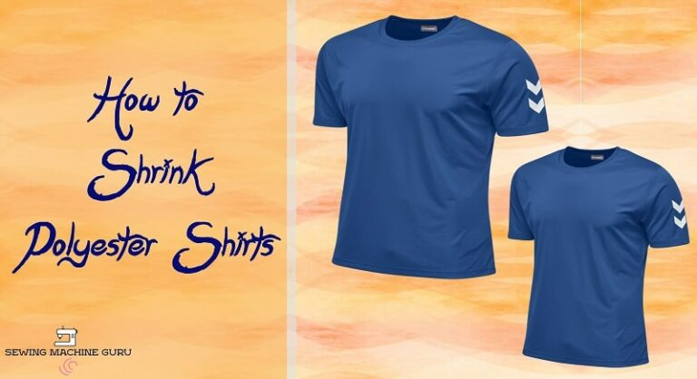 How to Shrink Polyester Shirts
